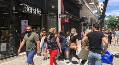"""Ανοιχτή προαιρετικά η αγορά σήμερα Κυριακή στη Λάρισα – """"Κλειστά"""" λέει ο Εμπορικός Σύλλογος"""