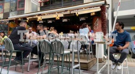 «Αίτηση» για τραπέζι στο Βολωνάκι – Δείτε εικόνες