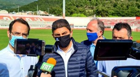 Τι έγραψε ο Λευτέρης Αυγενάκης στο facebook για την επίσκεψή του στον Βόλο