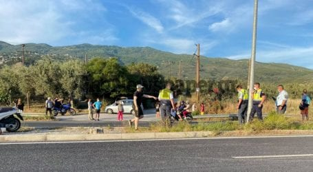 Βόλος: Τροχαίο με 35χρονο τραυματία στον Περιφερειακό [εικόνες]