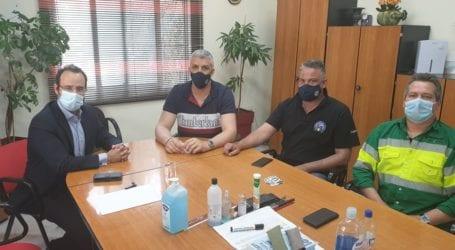 Συνάντηση Μαραβέγια με το Σωματείο της ΑΓΕΤ για το υπό διαβούλευση εργασιακό νομοσχέδιο