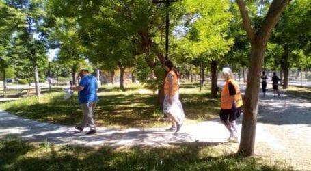 Ασπίδα Κοιν.ΣΕΠ: Η πρώτη της δράση ανταποδοτικής ανακύκλωσης στο πάρκο Αλκαζάρ