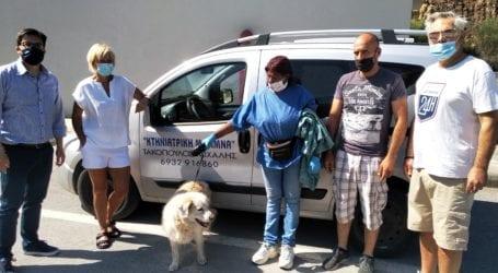 Επιχείρηση διάσωσης σκύλου στο τούνελ της Γορίτσας [εικόνες]