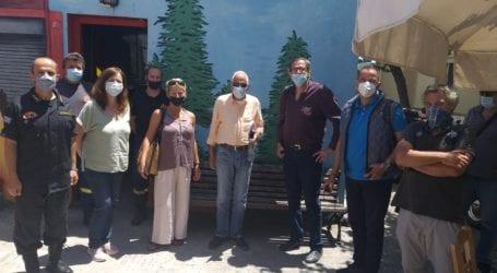 Αντιπροσωπεία της ΝΕ του ΣΥΡΙΖΑ ΠΣ Μαγνησίας επισκέφθηκε τη Σκόπελο