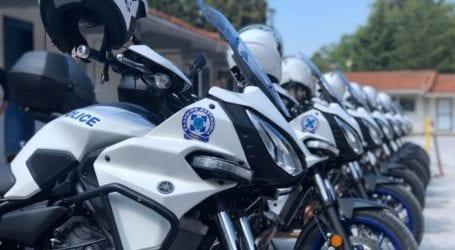 Ενισχύεται ο στόλος της Ελληνικής Αστυνομίας – 4 νέες δίκυκλες μοτοσικλέτες στον Βόλο