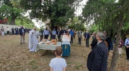 Στις λατρευτικές εκδηλώσεις για τη Ζωοδόχο Πηγή στην Ελάτεια, ο Γιώργος Μανώλης