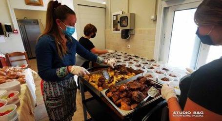 «Γεύμα αγάπης» ανήμερα του Πάσχα για 160 απόρους από το Συσσίτιο Ευαγγελίστριας