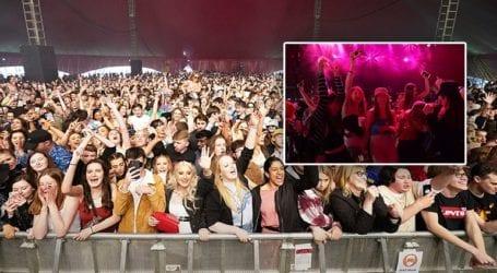 Φεστιβάλ-πείραμα στο Λίβερπουλ με 5.000 ανθρώπους χωρίς μάσκες
