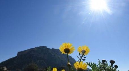 Την Κυριακή του Πάσχα οι θερμοκρασίες ήταν έως 13,5 βαθμούς πάνω από τα κανονικά για την εποχή επίπεδα