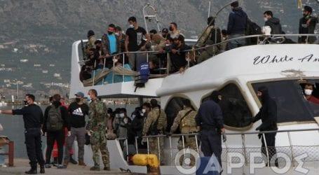 Θετικοί στον κορωνοϊό αρκετοί από τους 182 μετανάστες
