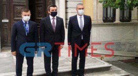 Στο Γενί Τζαμί ο Τούρκος υφυπουργός εξωτερικών