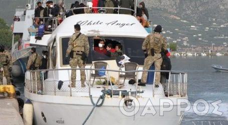 Στα χέρια των λιμενικών οι διακινητές του σκάφους White Angel