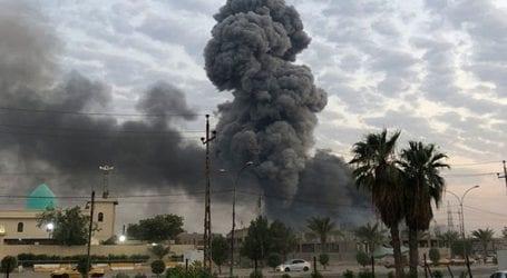 Επίθεση μη επανδρωμένου αεροσκάφους εναντίον αεροπορικής βάσης που φιλοξενεί αμερικανικές δυνάμεις