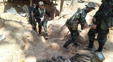 Οι αντάρτες που αντιτίθενται στο πραξικόπημα αποσύρθηκαν από την πόλη Μιντάτ