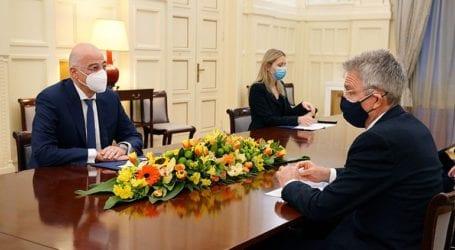 Τηλεφωνική επικοινωνία του Ν. Δένδια με τον Αμερικανό πρέσβη