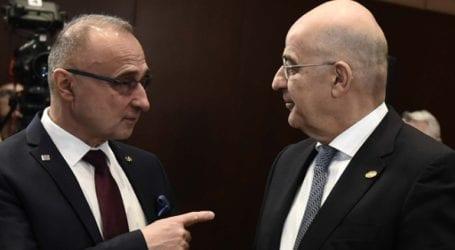 Ο ΥΠΕΞ της Κροατίας εξέφρασε την υποστήριξή του στην πρωτοβουλία του Δένδια για τη Μέση Ανατολή