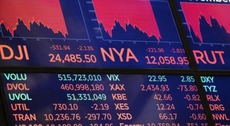 Μεγάλες απώλειες στη Wall Street
