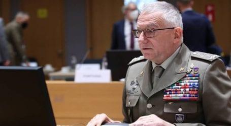 Ο Αρχηγός ΓΕΕΘΑ στη Σύνοδο της στρατιωτικής επιτροπής της Ε.Ε. στις Βρυξέλλες