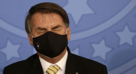 Πρόστιμο στον βραζιλιάνο πρόεδρο Μπολσονάρου επειδή δεν τήρησε τα μέτρα προστασίας