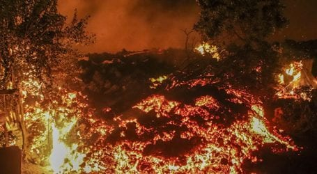 Η πόλη της Γκόμα «γλίτωσε» από τη λάβα του ηφαιστείου Νιραγκόνγκο