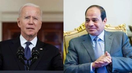 Δεύτερη τηλεφωνική επικοινωνία Μπάιντεν-Αλ Σίσι σε μια εβδομάδα