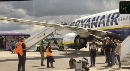 «Έχετε βόμβα στο αεροπλάνο» είπε στον πιλότο της Ryanair το Μινσκ