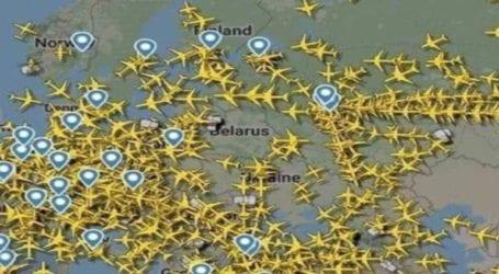 Μετά τις κυρώσεις, κανένα αεροπλάνο δεν πετάει στον ουρανό της Λευκορωσίας