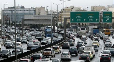 Μεγάλη κίνηση στους δρόμους της Αθήνας