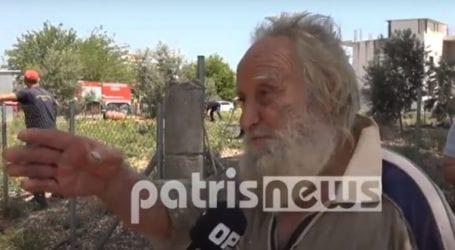 Κραυγή απόγνωσης από τον κ. Χρήστο – Το σπίτι του έγινε παρανάλωμα του πυρός