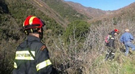 Επιχείρηση της Πυροσβεστικής για δύο γυναίκες που έπεσαν σε χαράδρα