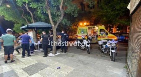Αιματηρό επεισόδιο με έναν τραυματία στη Θεσσαλονίκη