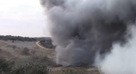 Βόλος: Βλήμα από στρατιωτική άσκηση εξερράγη σε βοσκότοπο
