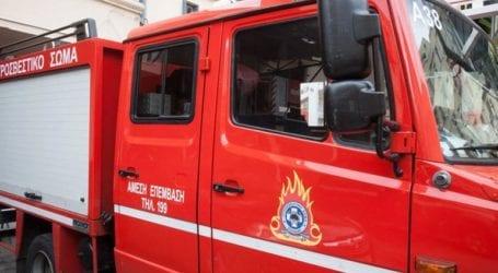 Φωτιά σε απορρίμματα στην Αγ. Κωνσταντίνου