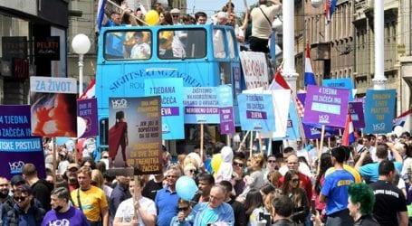 Χιλιάδες άνθρωποι διαδήλωσαν κατά της άμβλωσης στην Κροατία