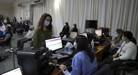 Περισσότεροι από 10.000 εμβολιασμοί σε μια ημέρα