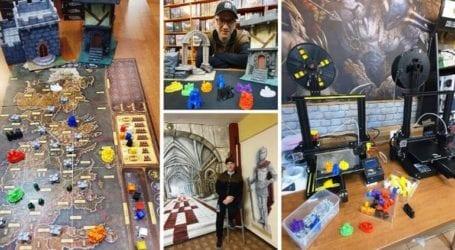 Τρισδιάστατες δημιουργίες μεταμορφώνουν τα επιτραπέζια παιχνίδια