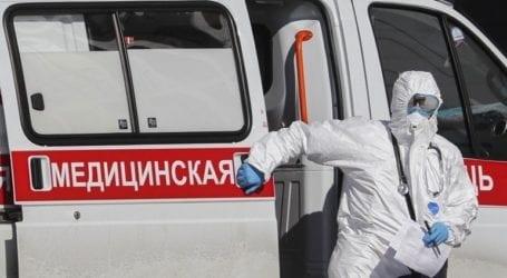 Η Ρωσία ανακοίνωσε 8.475 νέα κρούσματα κορωνοϊού και 339 θανάτους