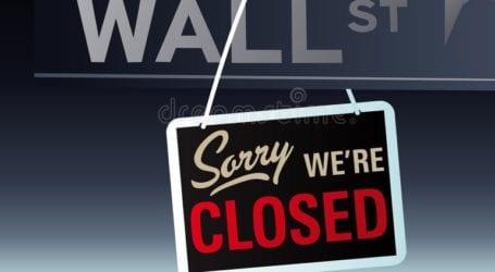 Κλειστή η Wall Street λόγω της Memorial Day