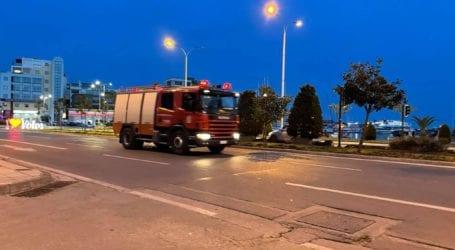 Βόλος: Αυτοκίνητο τυλίχθηκε στις φλόγες