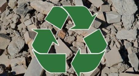 «Πράσινες» δράσεις από την Περιφέρεια Θεσσαλίας για τη διαχείριση αποβλήτων από εκσκαφές και κατεδαφίσεις