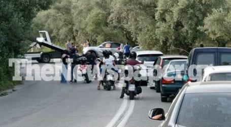 Βόλος: Φοβερό τροχαίο ατύχημα στο Μαλάκι – Εγκλωβισμένοι και τραυματίες