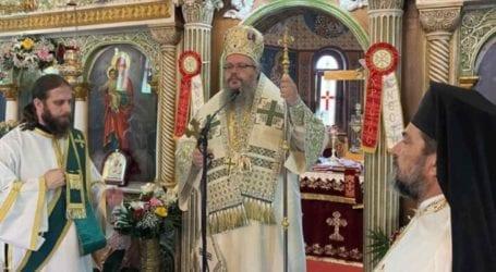 Tελέσθηκε η Θεία Λειτουργία στον Ιερό Ναό του Αγίου Θωμά Λαρίσης ιερουργούντος του Μητροπολίτου Ιερώνυμου
