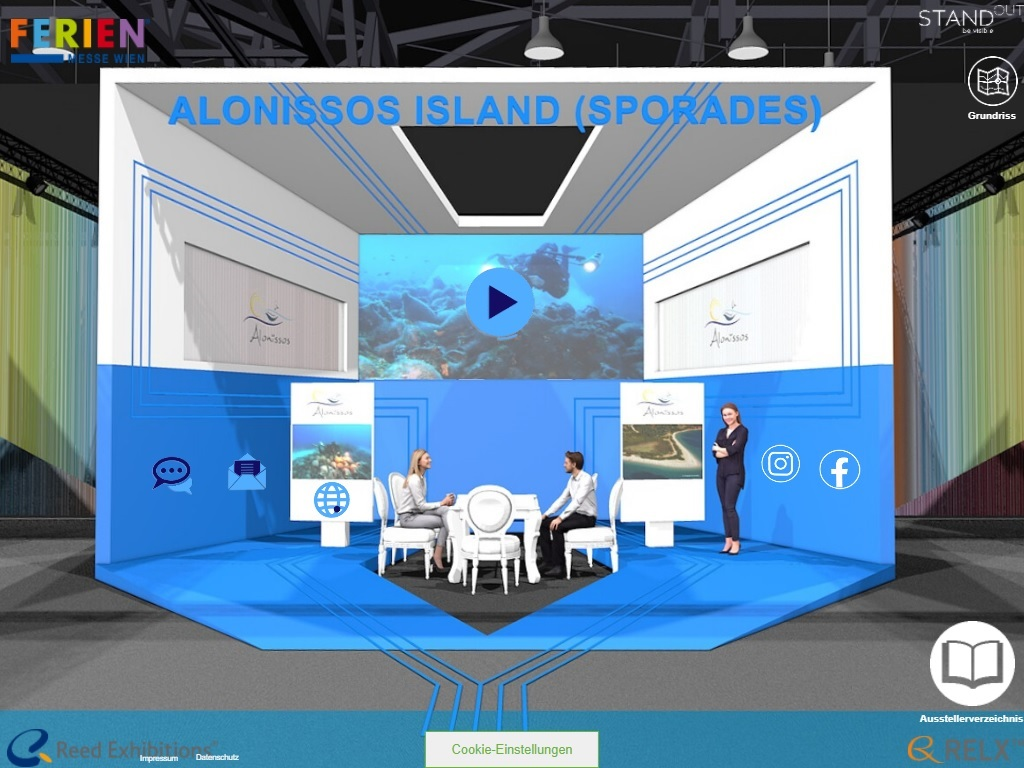 Alonissos Ferien Messe 2021