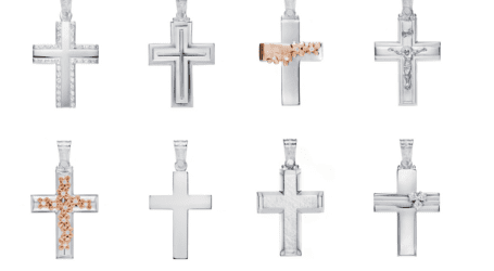 Βρείτε υπέροχους βαπτιστικούς σταυρούς στο Κοσμηματοπωλείο Χρυσόλιθος!