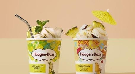 Παγωτά Cocktail από το Häagen Dazs Café  του Βόλου!