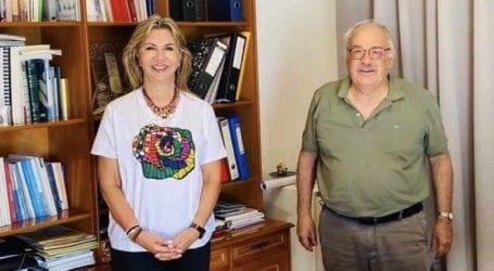 Ζέττα Μακρή: «Η Σκόπελος αποκτά μικρό ασθενοφόρο»