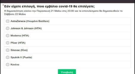 Έρευνα: 55% των Ελλήνων επιλέγει 1 από τα 4 διαθέσιμα εμβόλια