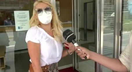 Η νέα επίσκεψη της Ελένης Μενεγάκη στις εγκαταστάσεις του Mega