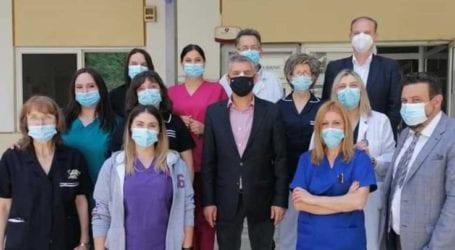 Αγοραστός: Με τους εργαζόμενους σε ΓΝΛ και Εμβολιαστικό Κέντρο για την Παγκόσμια Ημέρα Νοσηλευτή
