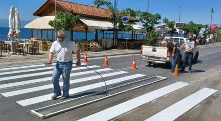 Από την Παρασκευή (21/05) η προσωρινή πεζοδρόμηση της παραλιακής οδού Αγριάς